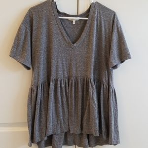 Gray Urban Outfitters top